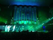 Photograph from Faschingskonzert 2020 - lighting design by Corey Cascio