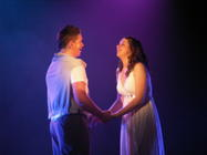 Photograph from FAME! - lighting design by Pete Watts