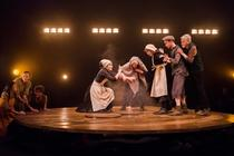 Photograph from Under The Hawthorn Three - lighting design by James McFetridge