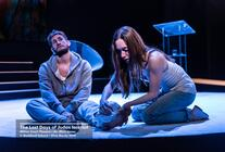 Photograph from The Last Days of Judas Iscariot - lighting design by lewis.hannaby