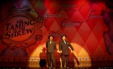 Photograph from Kiss Me Kate - lighting design by Ian Saunders