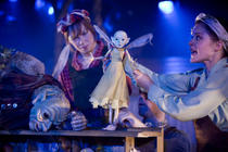 Photograph from Faeries - lighting design by Katharine Williams