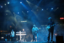 Photograph from Dubai Jazz Festival - lighting design by Paul Smith