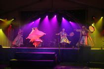 Photograph from HSBC Middle East and N. Africa 60th Anniversary - lighting design by Paul Smith