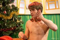 Photograph from The Boy Under The Christmas Tree - lighting design by Jack Wills