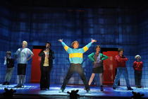 Photograph from Horrid Henry Live and Horrid! - lighting design by Richard Jones