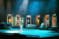 Photograph from Forbidden Ronacher - lighting design by Michael Grundner