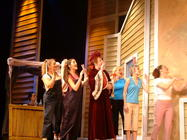Photograph from Babes In Arms - lighting design by Pete Watts