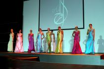 Photograph from Diamond Trading Council - Gala Dinner - lighting design by Paul Smith