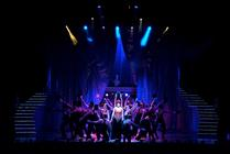 Photograph from The Boy from OZ - lighting design by Scott Allan