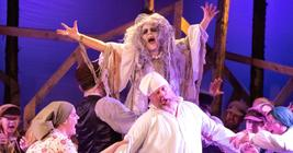 Photograph from Fiddler on the Roof - lighting design by keithmson