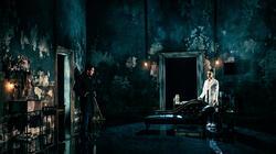Photograph from Dorian Gray - lighting design by Matthew Haskins