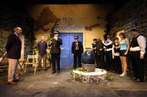 Photograph from Much Ado about Nothing - lighting design by Peter Vincent