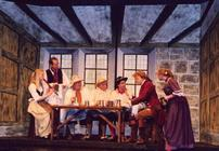 Photograph from She Stoops to Conquer - lighting design by Peter Vincent