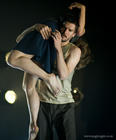 Photograph from I Am Falling (Sadlers Wells) - lighting design by Katharine Williams