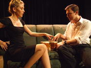 Photograph from The Lover / Landscape - lighting design by Pete Watts