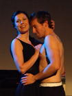 Photograph from The Master and Margarita - lighting design by Steve Lowe