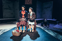 Photograph from NOT ABOUT NIGHTINGALES - lighting design by Sam Ohlsson