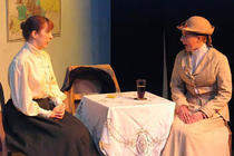 Photograph from The Cherry Orchard - lighting design by Peter Vincent