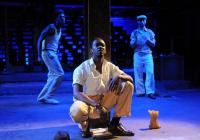 Photograph from In Blood - lighting design by Charlie Lucas