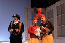 Photograph from Cosi FanTutte - lighting design by Pete Watts