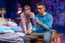 Photograph from I AND YOU - lighting design by Matthew Haskins