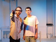 Photograph from The Present - lighting design by Steve Lowe