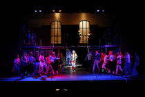 Photograph from Fame The Musical - lighting design by Peter Vincent
