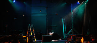 Photograph from RAO Opera Tableaux - lighting design by Jake Wiltshire