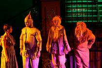 Photograph from The Wiz - lighting design by Peter Vincent