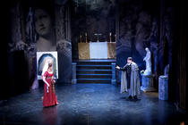 Photograph from Tosca - lighting design by Scott Allan