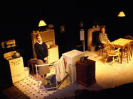 Photograph from The York Realist - lighting design by Steve Lowe
