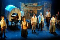 Photograph from Mother Courage - lighting design by Pete Watts
