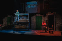 Photograph from Our Laygate - lighting design by Johnathan Rainsforth