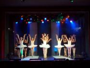 Photograph from Time To Dance - lighting design by Eric Lund