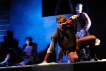 Photograph from The Man of La Mancha - lighting design by Michael Grundner