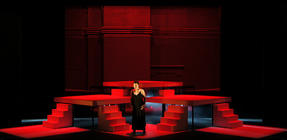 Photograph from Love's Edge - lighting design by Jake Wiltshire