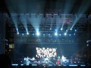Photograph from Dubai International Jazz Festival - lighting design by Paul Smith