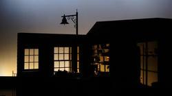 Photograph from Albert Herring - lighting design by Jake Wiltshire