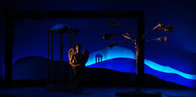 Photograph from Il Pastor Fido - lighting design by Jake Wiltshire