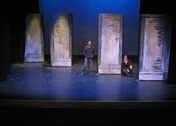 Photograph from Pygmalion - lighting design by Peter Vincent