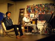 Photograph from Studies for a Portrait - lighting design by Steve Lowe