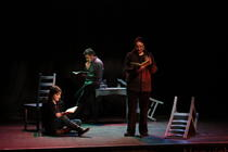 Photograph from You Are Here - lighting design by John Castle