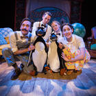 Photograph from Mr Popper's Penguins - lighting design by Ric Mountjoy
