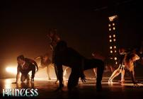 Photograph from Princess - A Rock Ballet - lighting design by Robbie Butler