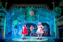 Photograph from Red Riding Hood Rock n Roll Panto - lighting design by Jason Salvin