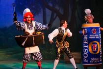 Photograph from Cinderella - lighting design by Pete Watts