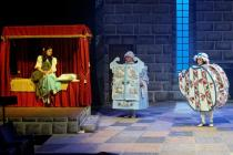 Photograph from Beauty and the Beast - lighting design by Nigel Lewis