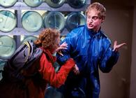 Photograph from Charity Wars - lighting design by Ian Saunders