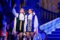 Photograph from Cinderella - lighting design by Johnathan Rainsforth